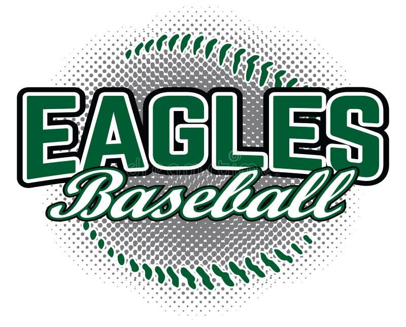 Eagles baseballa projekt ilustracja wektor