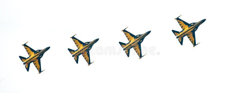 Eagles nero coreano a Singapore Airshow 2014 immagine stock