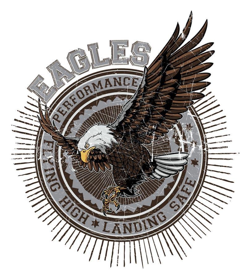 Eagles stock illustration