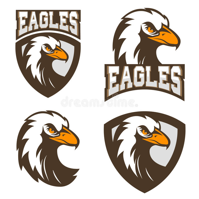 Eagles. Sport Team Logo Template. Stock Vector - Illustration of ...