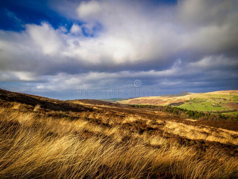 The Peak District, Staffordshire royalty free stock photography