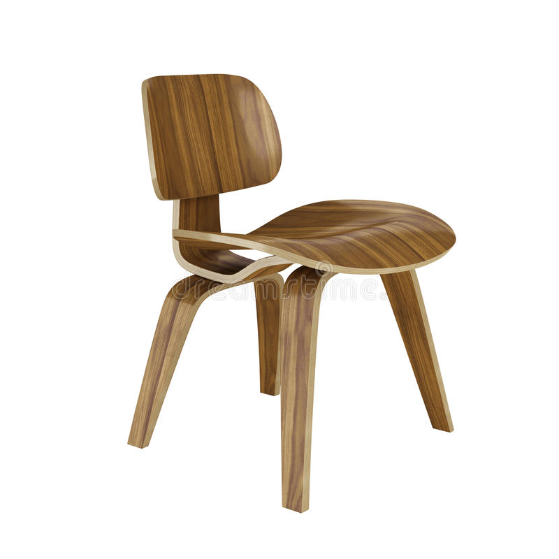 Eames DCW Dining Chair vector illustration
