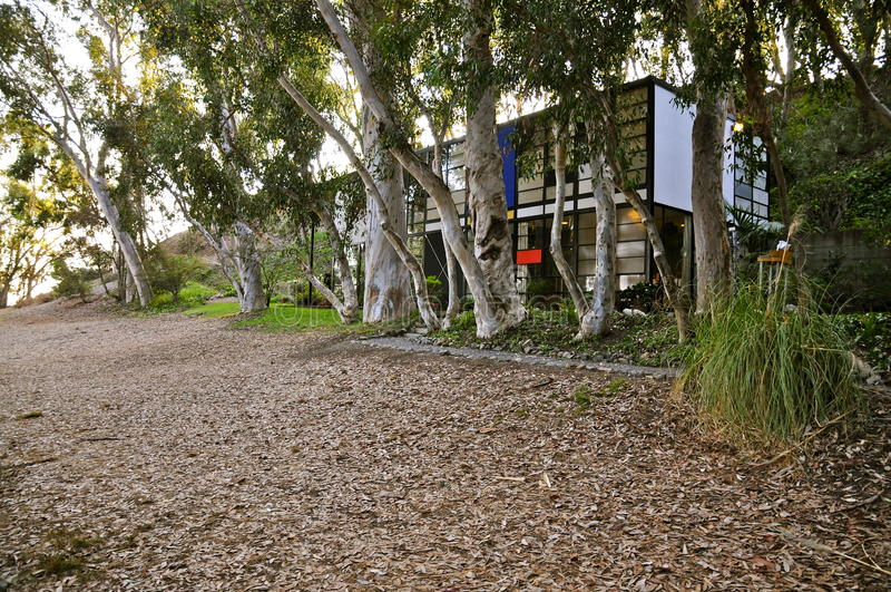 Eames House, Pacific Palisades stockfoto