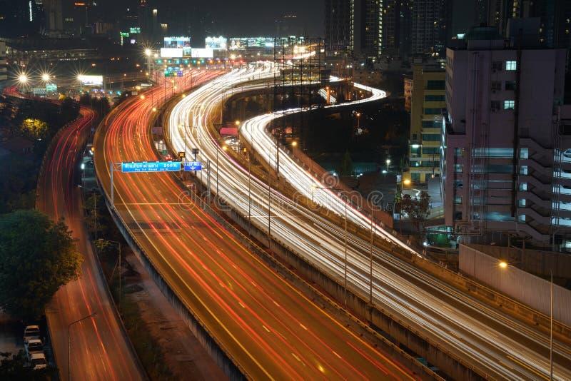 Eapress väg Bangkok Thailand royaltyfri foto