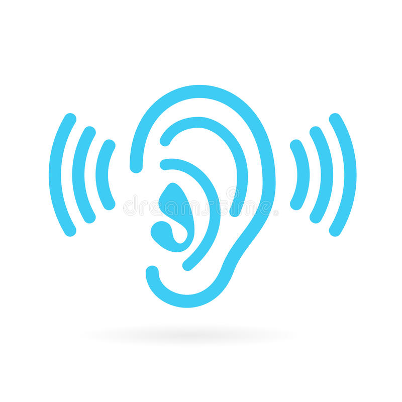 Free Ear Listen Vector Icon Royalty Free Stock Images - 84190579