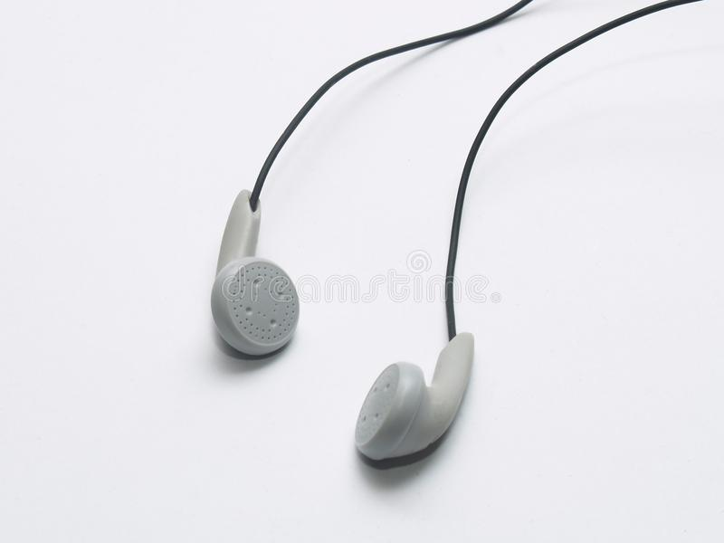 Ear phones stock photo