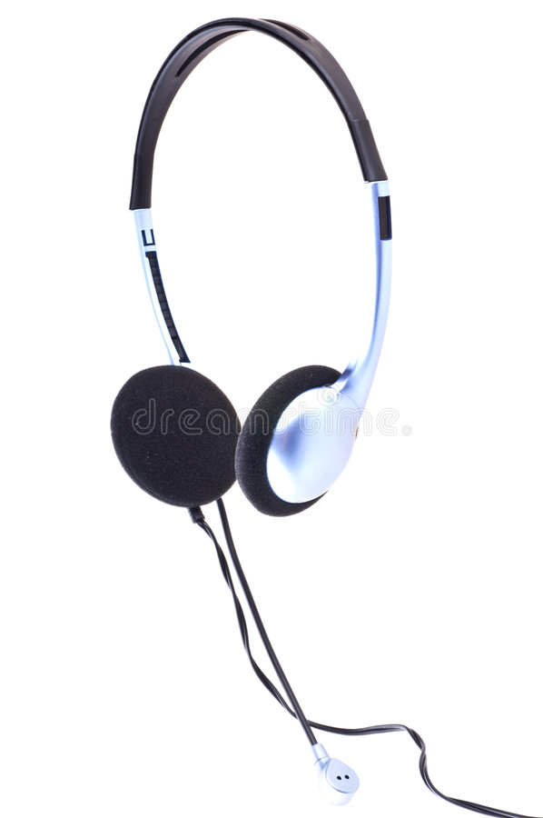 Ear-phones royalty free stock image