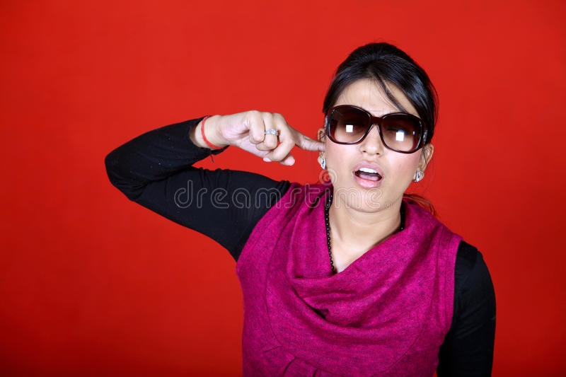 Download Ear picking stock image. Image of expressions, girl, clothing - 22242355