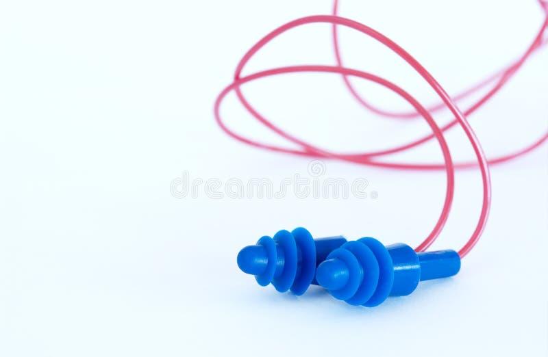 Ear plugs stock image