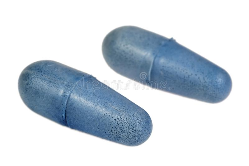 Ear plugs royalty free stock image