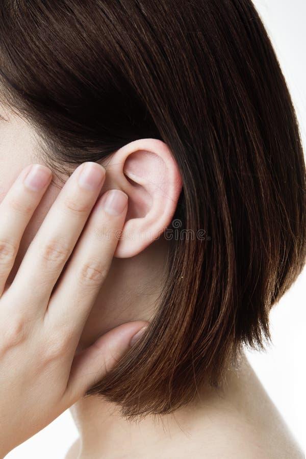 earache fotografia stock libera da diritti