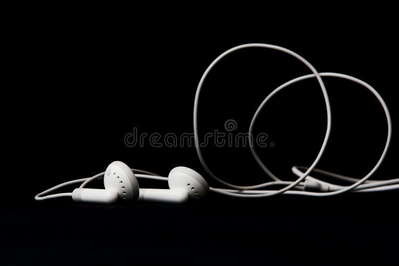 Earbuds stock afbeelding
