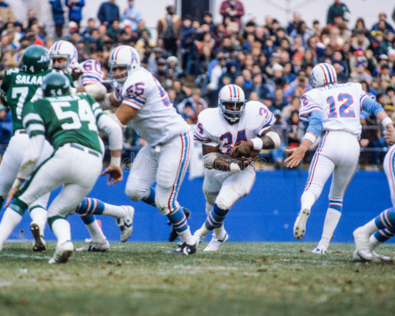 Earl Campbell Houston Oilers stock photos