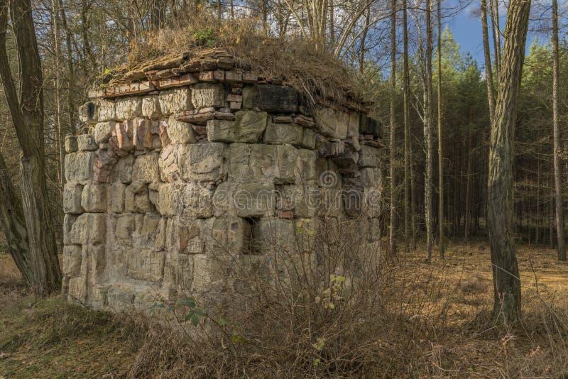 Earl chapel near Straci village in winter time stock photo