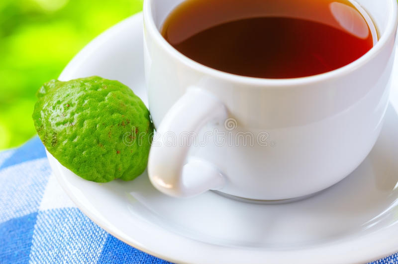 Earl Grey tea stock photo