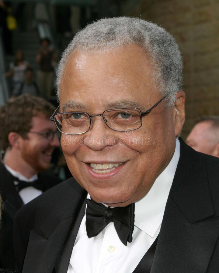 earl james jones royaltyfria bilder