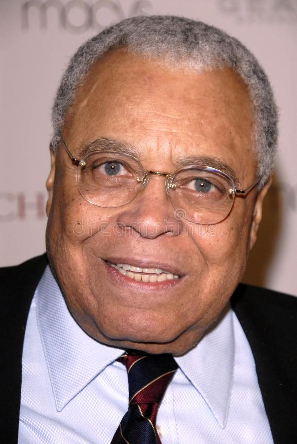 earl james jones arkivbild