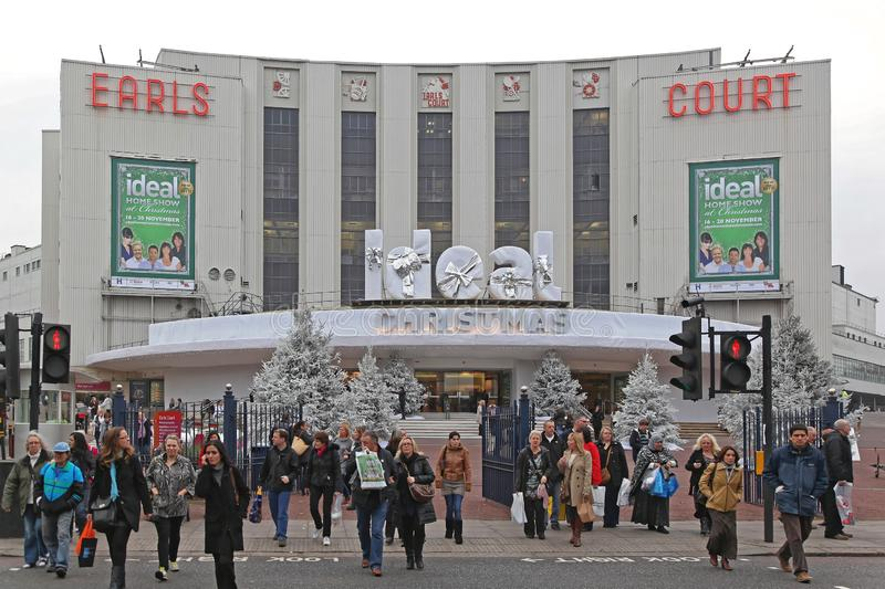 Earl's Court Londres images stock