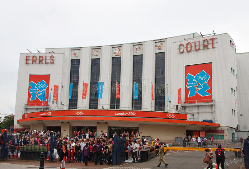 Earls Court, Londres Image stock éditorial