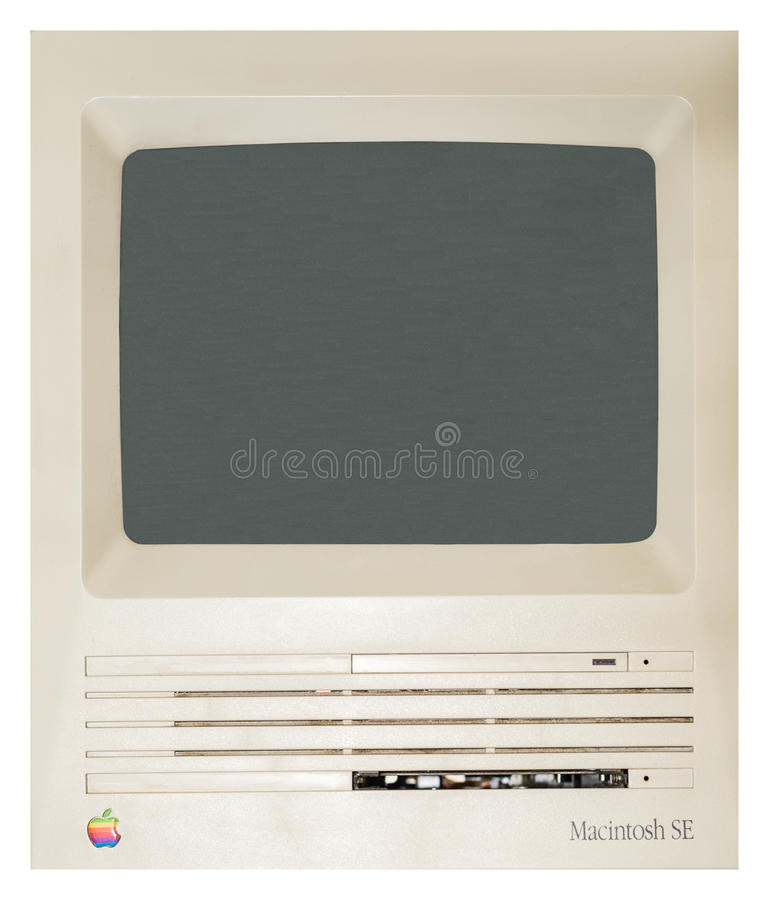 Early Apple Computer royalty free stock photos
