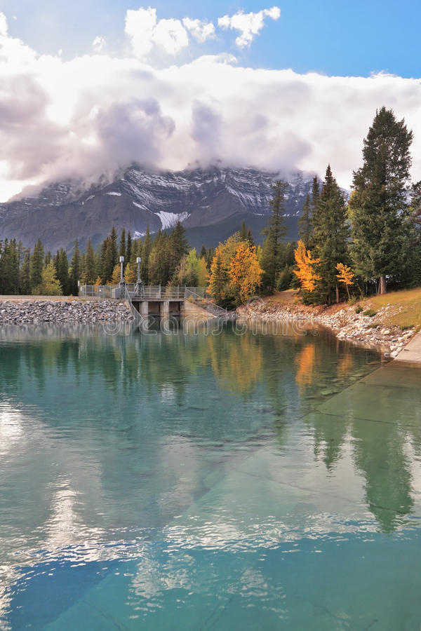 Early autumn in the Canada stock photos