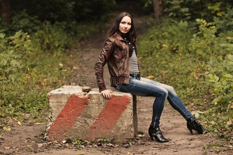 Download Early Autumn Portrait Of Girl Stock Photos - Image: 27047293