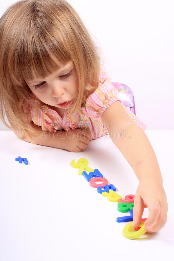 Early childhood development stock image