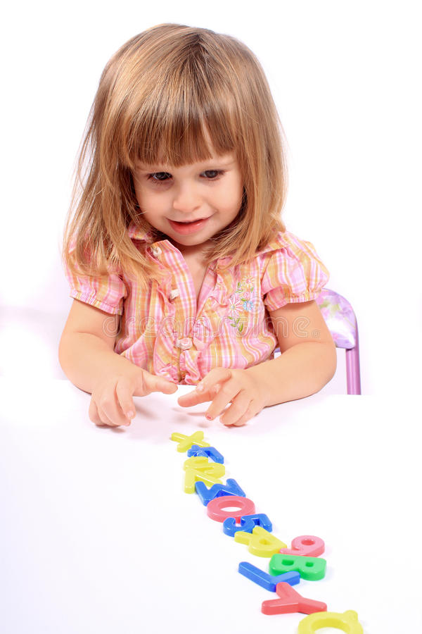 Early childhood development stock photography
