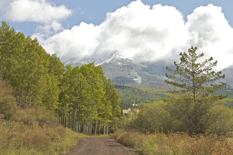 Download Early Fall Snow stock image. Image of backcountry, landscape - 21506143