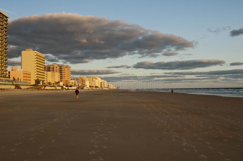 Download Early Morning stock photo. Image of clouds, walk, sand - 23354830