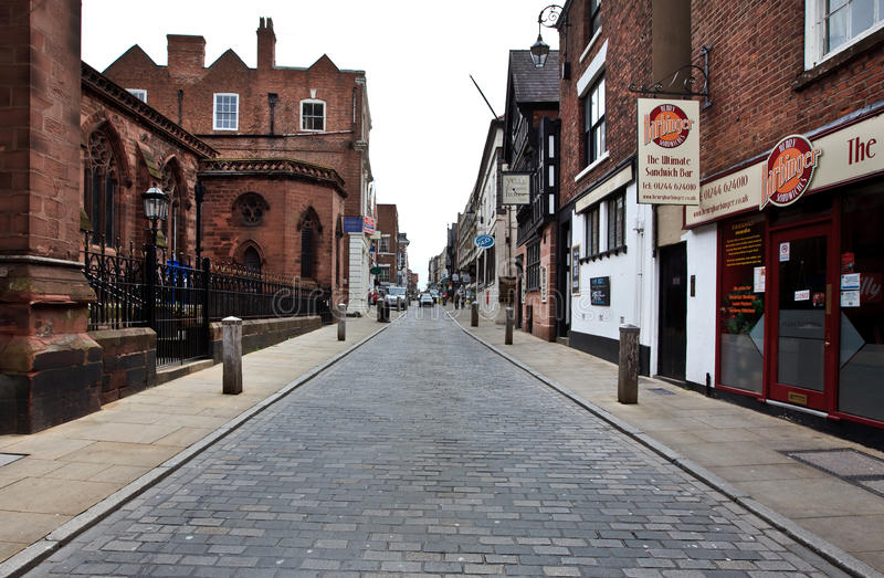 Download Early Morning In Chester, UK Editorial Stock Photo - Image of history, street: 26012883