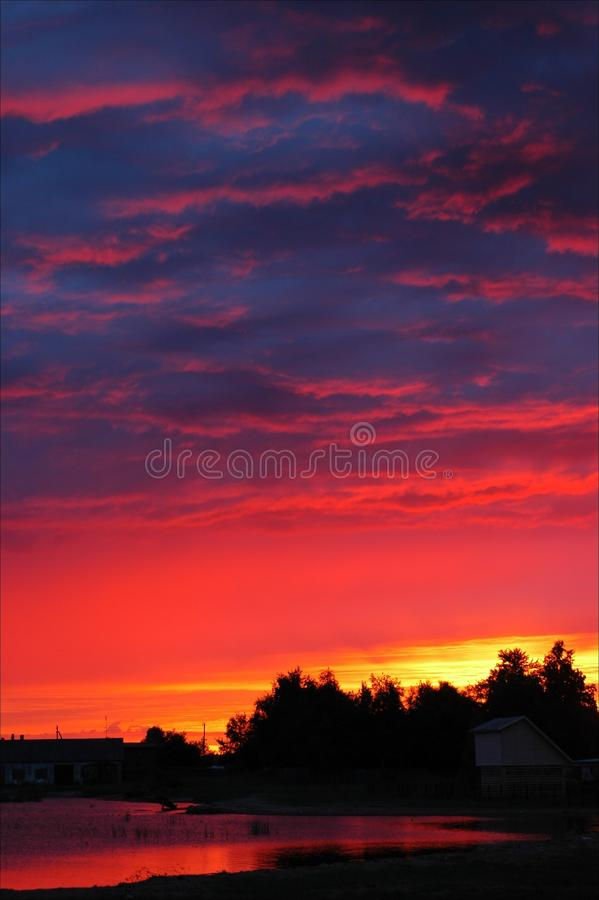 Download Early In The Morning. A Dawn. Stock Photo - Image: 27560196