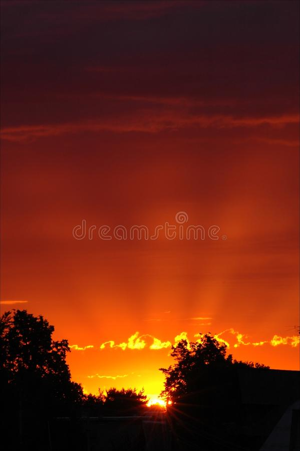 Download Early In The Morning. A Dawn. Stock Image - Image: 27560199