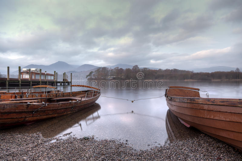 Early Morning Derwentwater stock photo