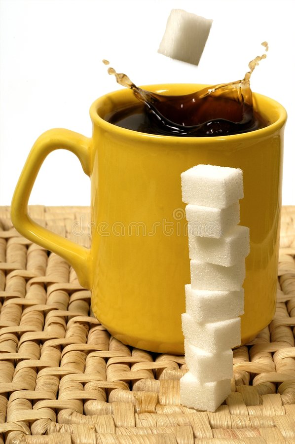 Download Early morning fix stock image. Image of addiction, sugar - 437123