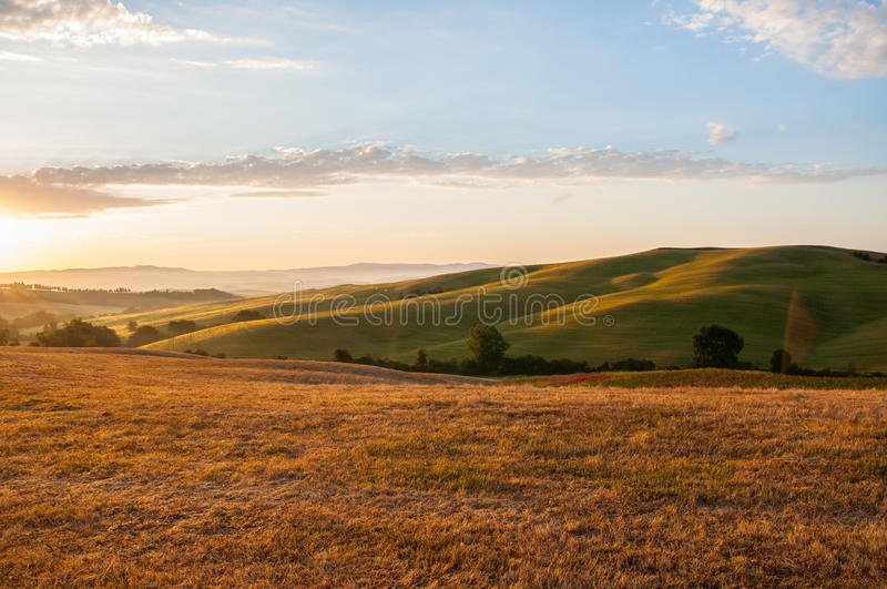 Download Early Morning Light  In The Tuscany Stock Image - Image: 26606537
