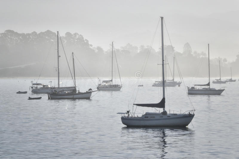 Early Morning in Santa Barbara stock photos