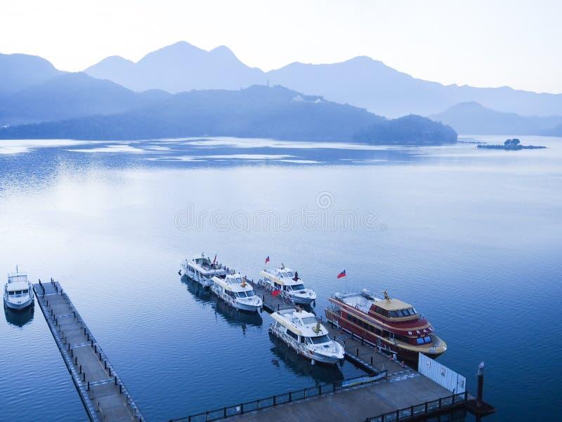 Sun Moon Lake in Taiwan. royalty free stock photography