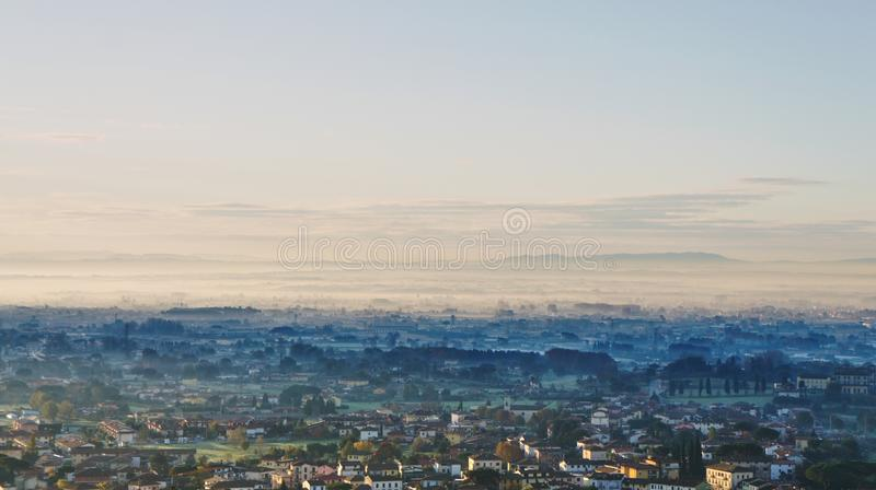 Download Early morning in Tuscanny stock photo. Image of sunlight - 104418984