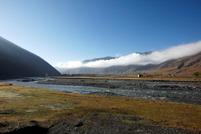 Download The early morning valley stock image. Image of sichuan - 17086647