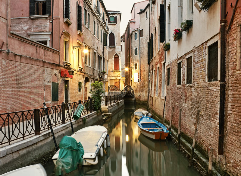 Download Early morning in Venice stock photo. Image of history - 28155678