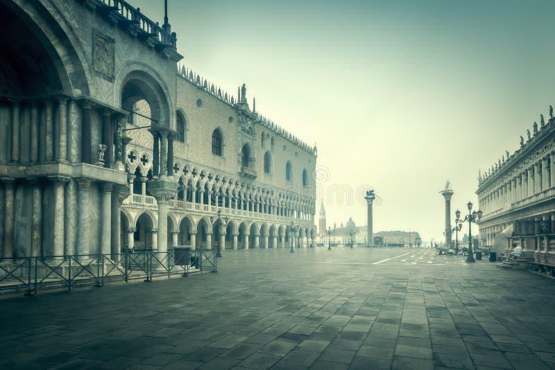 Early Morning Venice Italy Stock Photos