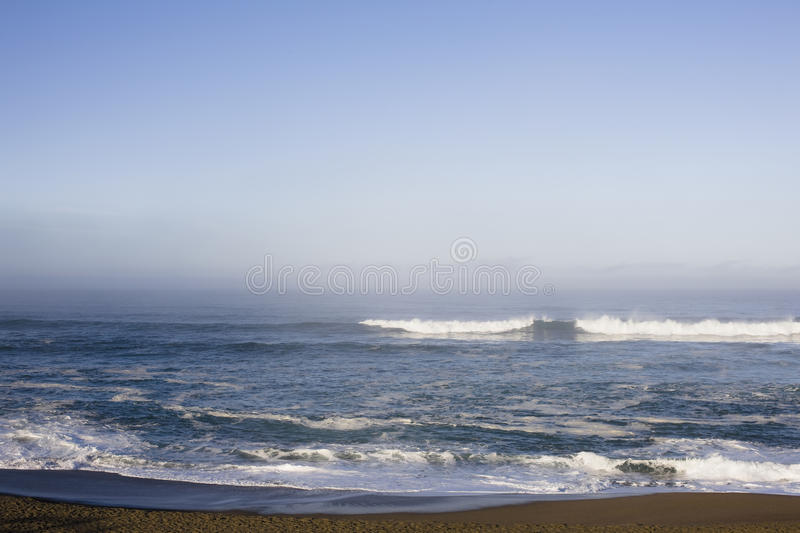 Early Morning Waves At Point Reyes Stock Images