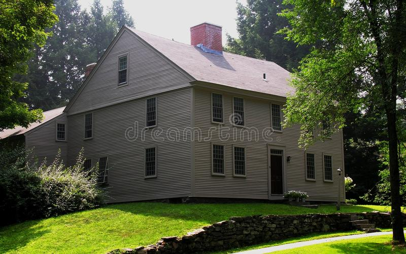 Early New England Colonial stock photos
