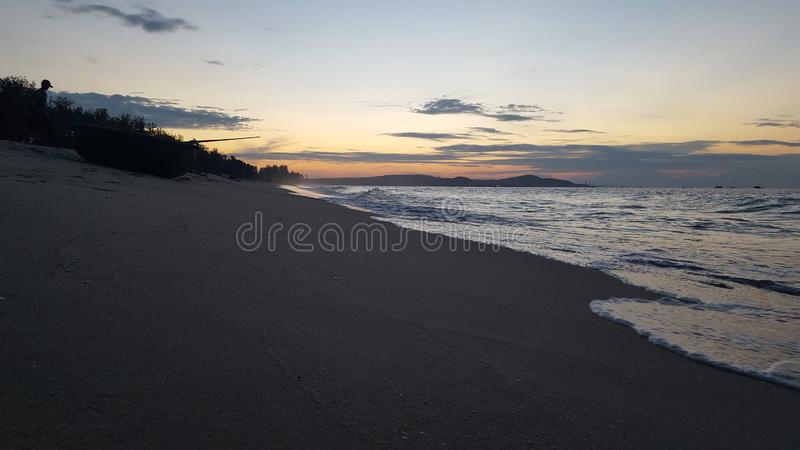 Vung Tau Beach In The Night Stock Photo Image Of Watching Early 130352142