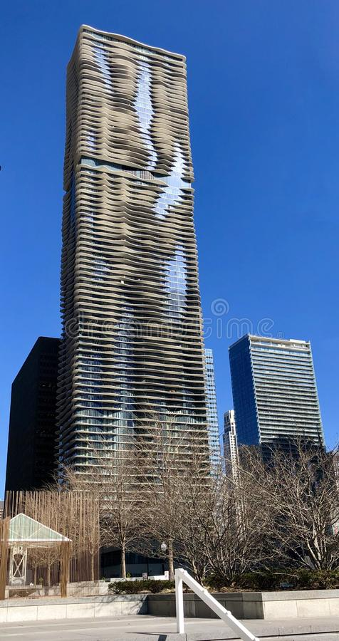 World's Tallest Building Designed by a Women stock photos
