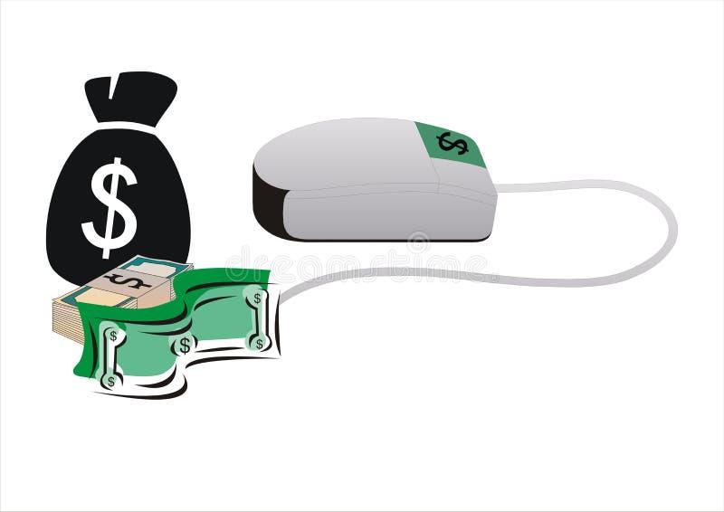 Earn money online royalty free stock photos
