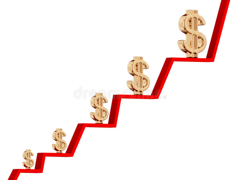Download Earnings growth stock illustration. Image of improvement - 18498926