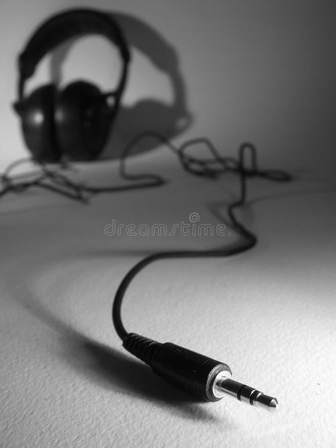 Earphones stock image