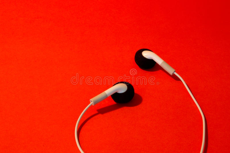 Download The Earphones stock image. Image of ear, sound, accessory - 26224197